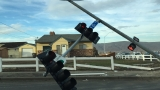 Truck hits pole; knocks down stop light in Yakima