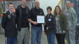 Dan Dorman earns Patriot Award for his support of Army Reserve employee
